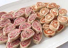 Canapés enrollados -Recetas fáciles, cocina andaluza y del mundo. » Divina Cocina