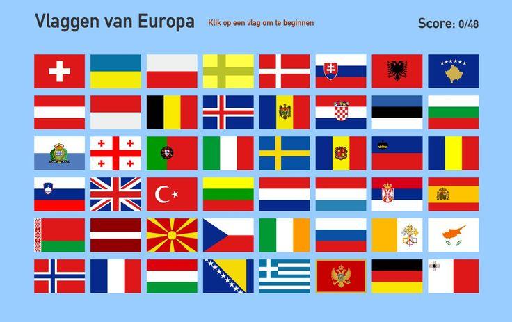 Onwijs Vlaggen van Europa (Toporopa) | Europa geography - Vlaggen, Rond LZ-37