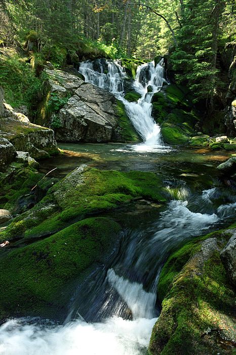 Maria Magdalena Waterfall from Retezat Mountain, Romania www.romaniasfriends.com
