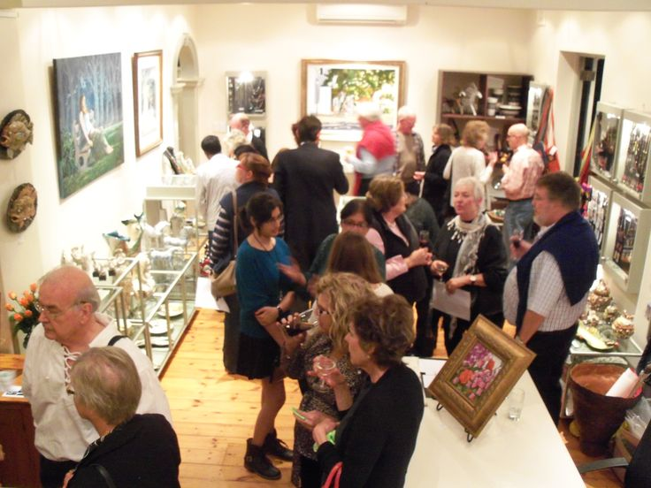 '4 Decades and Still going Strong', John Smith opening night attracts a festive crowd. @ Artisan Gallery, 344 Florida Road, Durban. Email: info@artisan.co.za. Ph: 031 312 4364