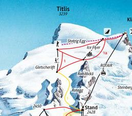 overnight, arrival, route to titlis, car, train, TITLIS Engelberg