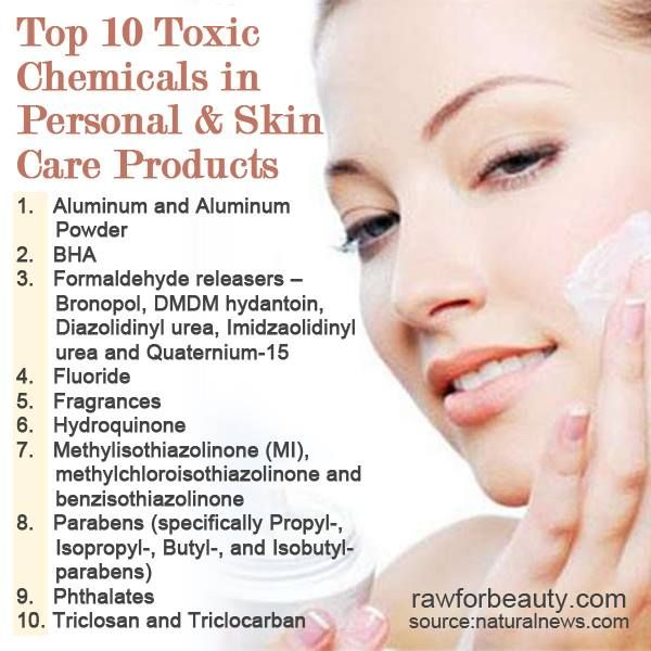 Beauty products are loaded with cancer causing ingredients ...