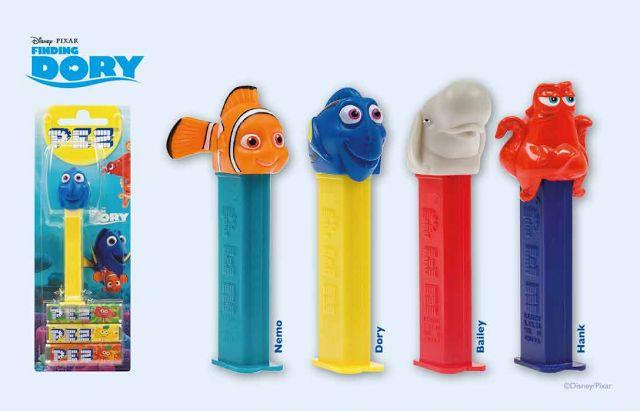 Disney PEZ 2016 Finding Dory (Nemo) Series