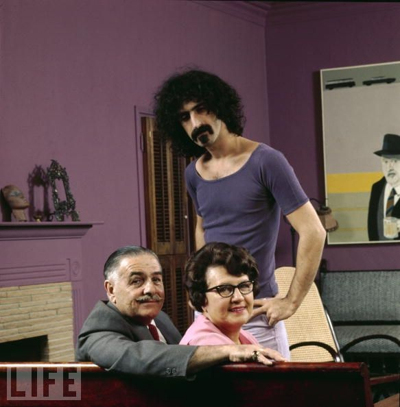 Rock Stars at Home With Their Parents, Frank Zappa