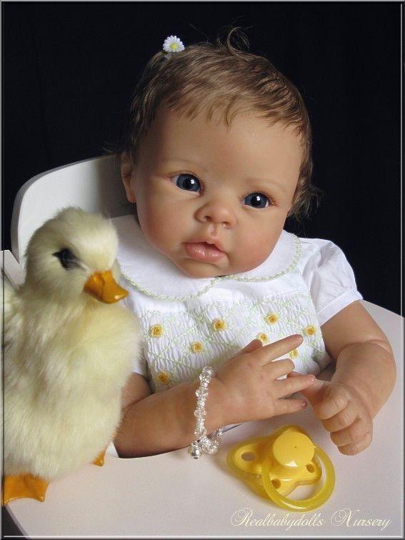 Reborn nr 106 / Adopted / Krista Linda Murray - Realbabydolls Nursery