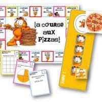 La course aux pizzas - jeux sur les fractions