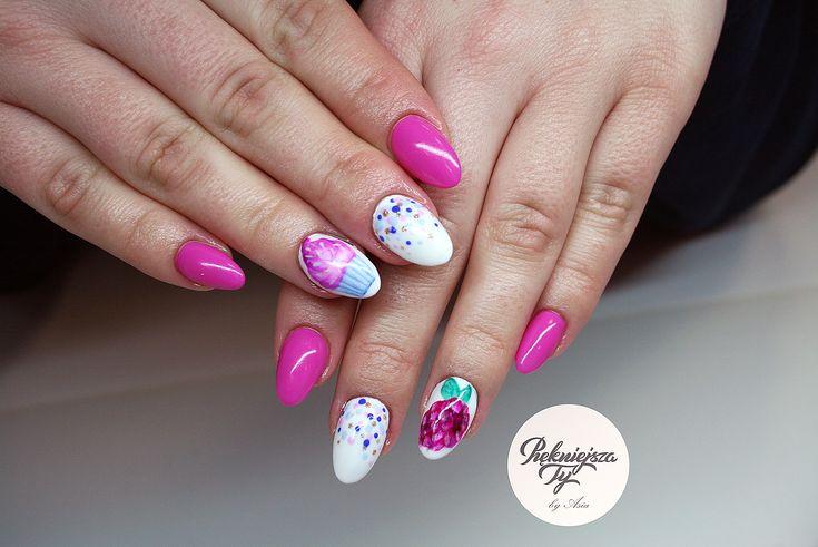 #manicure #hybryda #nailart