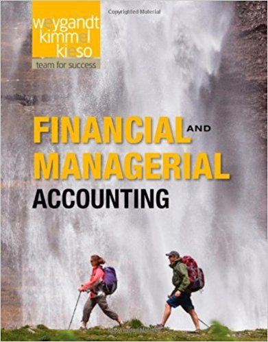 Financial And Managerial Accounting 1st Edition By Jerry J Weygandt