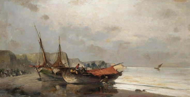 Ψαράδικα στην ακτή