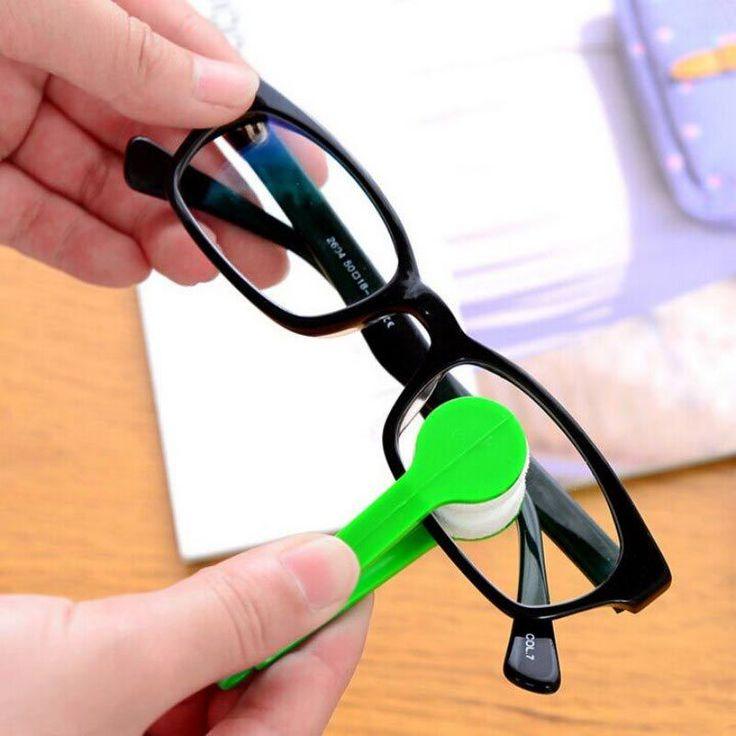 1 stks Multifunctionele multicolor draagbare bril vegen bril schoonmaken glazen ruitenwisser doek Schoon Vegen Gereedschap Gratis verzending