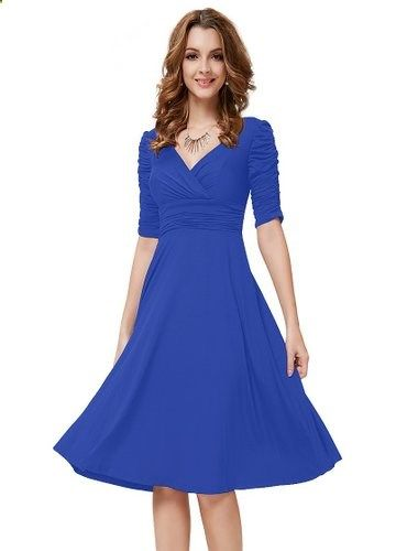Price: $29.99 - $39.99 http://www.ClothesRoc.com/dresses-on-sale-today-only-2 I am extremely picky about my clothing, especially dresses. I am what you'd call an apple shape, as I have a large bust, broad shoulders, a tendency to carry weight in my mid-section, but yet I have very small hips and legs. Finding dresses is always a nightmare, so I was very hesitant to order one online. Knowing that wrap-style dresses are most flattering for my figure, I took a chance on ordering this one, and I…
