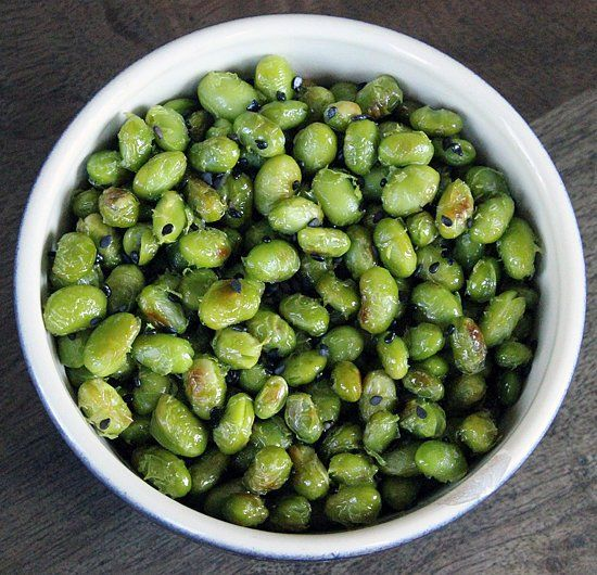 Roasted Edamame. This Protein-Rich Snack Is the Perfect Post-Workout Treat