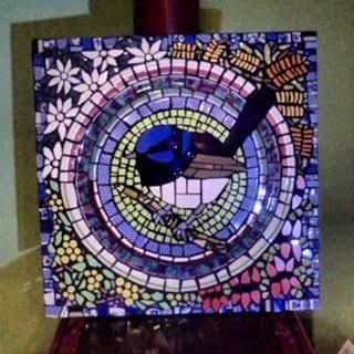 blue wren mosaic - Google Search