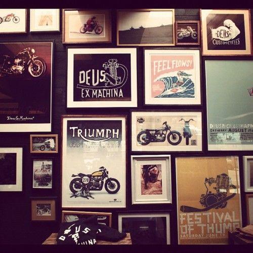 NOW AND THEN Deus ex machina exmachina motorcycles Triumph