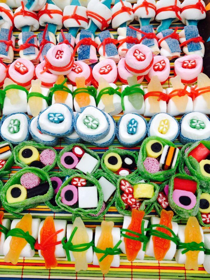 Snoepsushi , Candy sushi