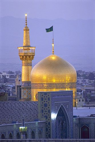 Iman Reza Mosque & Shrine in Masshad, Iran