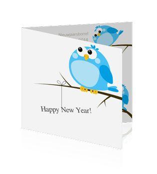Uitnodiging nieuwjaarsreceptie of nieuwjaarskaarten voor uw bedrijf.