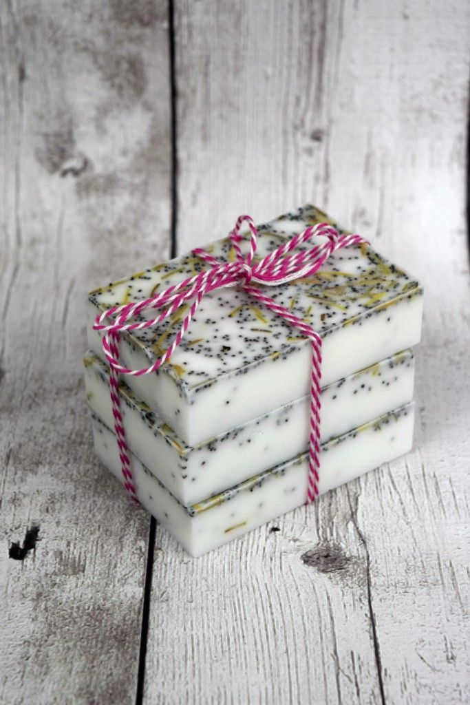 Homemade Rosemary Mint Soap - A Spark of Creativity: