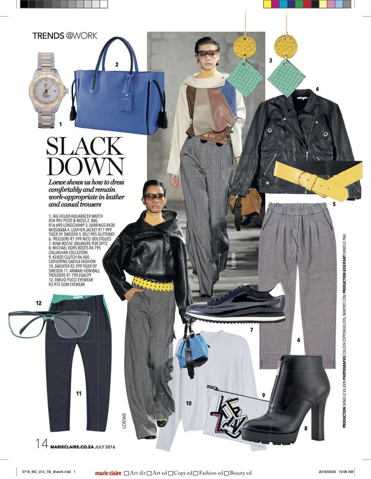 #Nicci #trousers featured in @Marie Claire #July16 issue