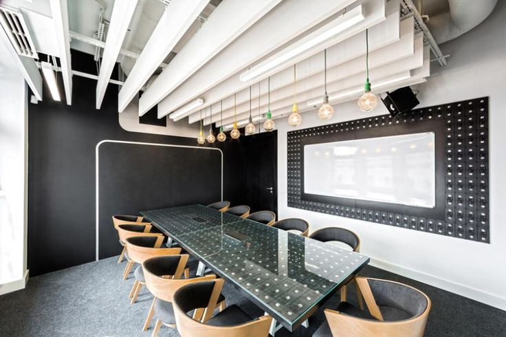 Дизайн офиса для Opera Software от Mode:lina, Вроцлав, Польша. | Архитектура и…