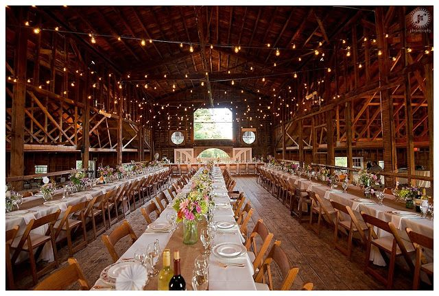 Long Tables With Runners Lots Of Lights Up Above Details Pinterest The Hill And Wedding Venues