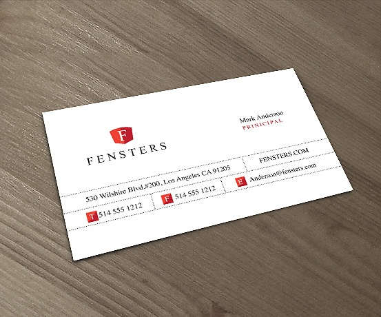 A White Business Card Design. #businesscard #design $14.99