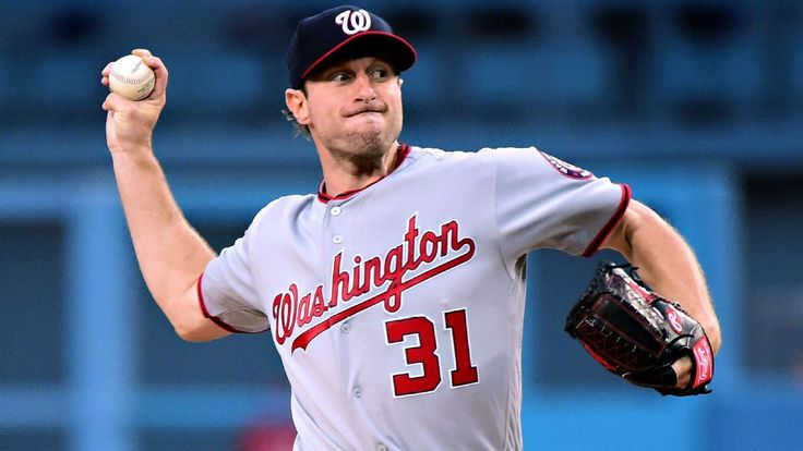 Max Scherzer leaves in 2nd with neck spasms after first home run