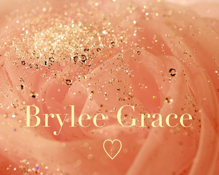Br // yle // lee - Parts of Brittany, Kyle, & Lee {after my papa} joining together as one, creating this simple, yet oh so beautiful & unique name for our baby girl #2.. 'Brylee' ♡