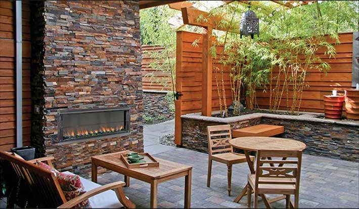 17 best images about patios on pinterest exposed for Wooden privacy walls for patios