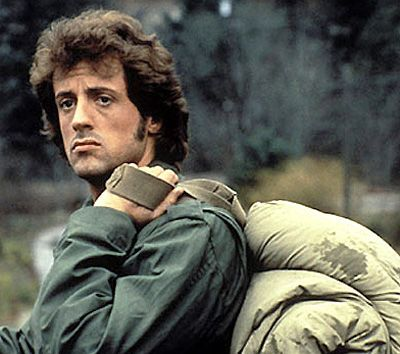 Rambo~First Blood~Sylvester Stallone