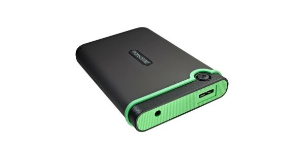 "TRANSCEND 1TB USB3.0 [M3] 2.5"" STOREJET  SuperSpeed USB 3.0 compliant and backwards compatible with USB 2.0 Connection bandwidth up to 5Gb/s Durable anti-shoc"