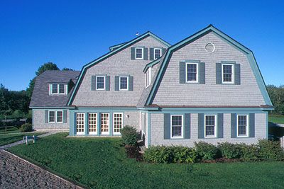 17 best images about gambrel roofing on pinterest for Gambrel gable