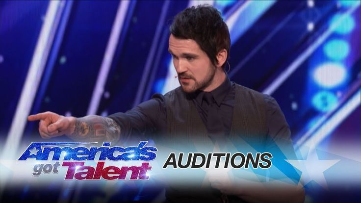 Colin Cloud: Real Life Sherlock Holmes Reads Minds - America's Got Talent 2017 - YouTube