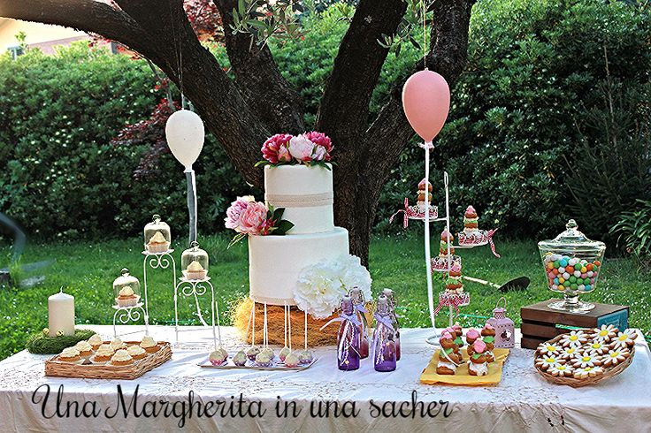 """There was a table set out under a tree in front of the house, and the March Hare and the Hatter were having tea.."" Cit. Alice in the wonderland #unamargheritainunasacher"