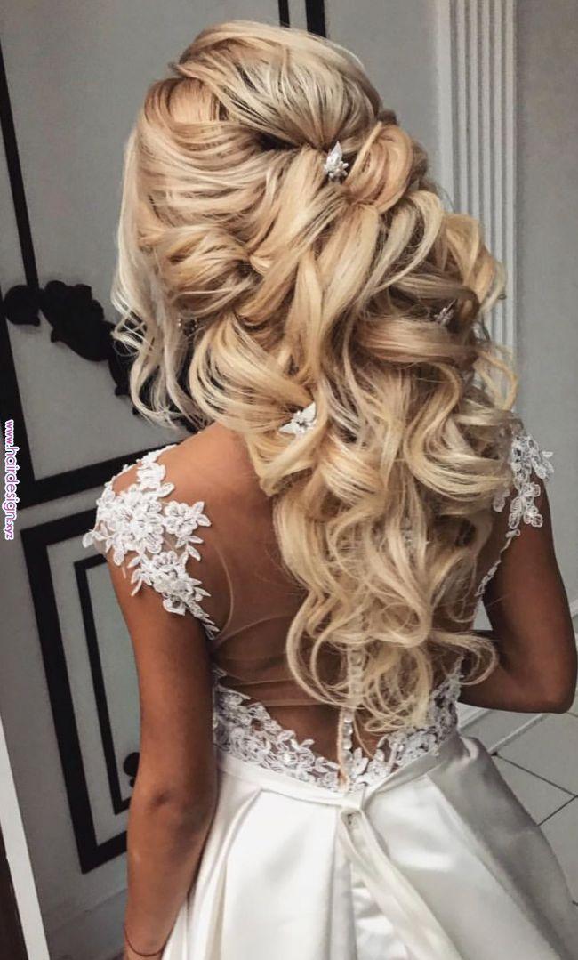 To Kalytero Loyk Gia Mia Nyfh Coiffure Mariage Coiffure Mariee Cheveux De Mariee