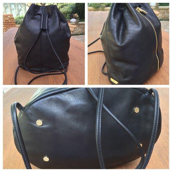 Elizabeth and James Bags - Elizabeth & James Leather Sling Backpack-EXCELLENT
