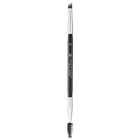 If sold out online. They'd have it at the store.  What it is:A dual-sided and angled, flat brush with ultra-soft bristles that's designed for use with the DIPBROW™ Pomade.  What it does:Apply and seamlessly blend in brow color with the Anastasia Beverly Hills Brush #14. With soft bristles an