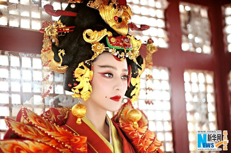 "New stills of TV drama ""The Empress of China"" released - Xinhua 
