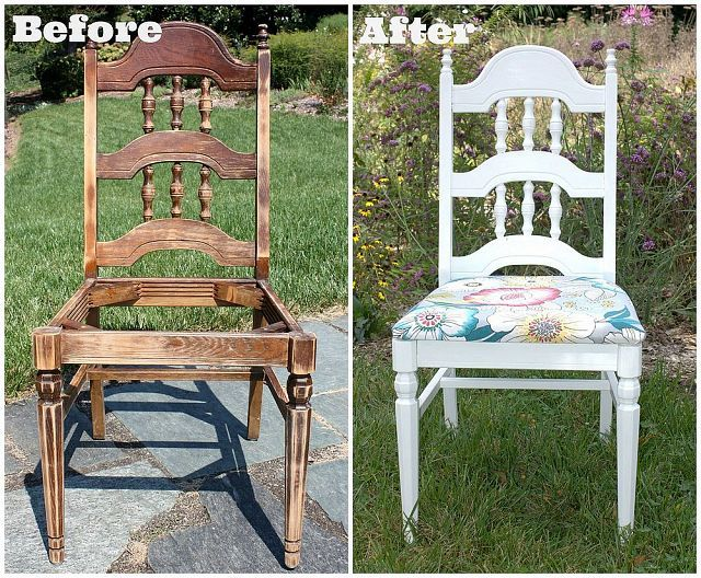 Trash to treasure chair beautiful illinois and for Affordable furniture and treasures