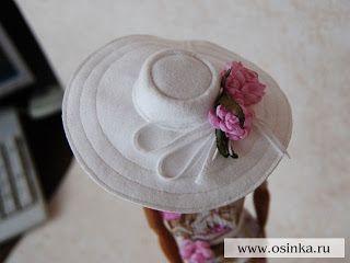 Mimin+Dolls:+chapéu+para+doll