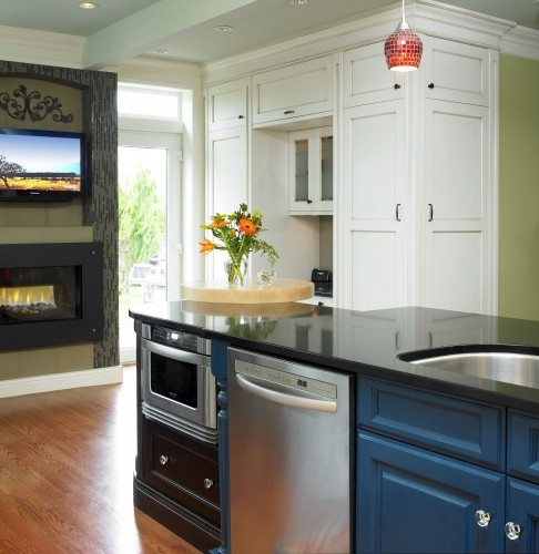 6 Tips For A Kitchen You Can Love For A Lifetime: Just What I Was Thinking, Move The Microwave To Lower