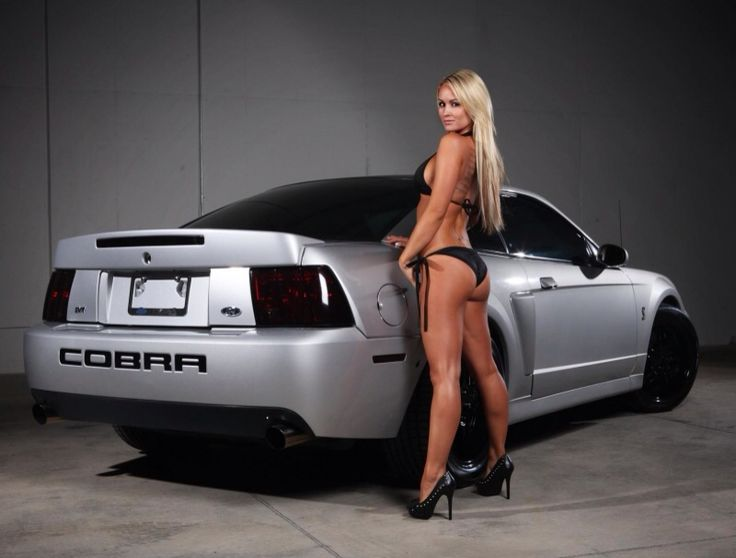 Mustang Gt350R For Sale >> Hot babe on a Mustang Cobra in Bikini | Babes On Cars ...