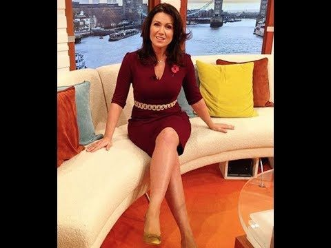 Susanna Reid 46 serves legs appeal in thigh-skimming dress