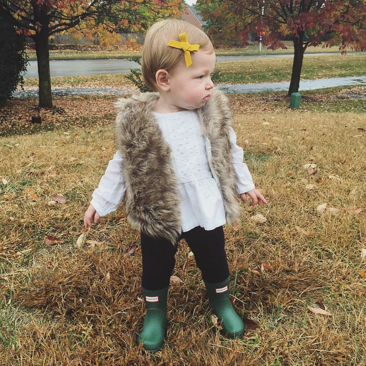 Toddler fashion | Hunter boots