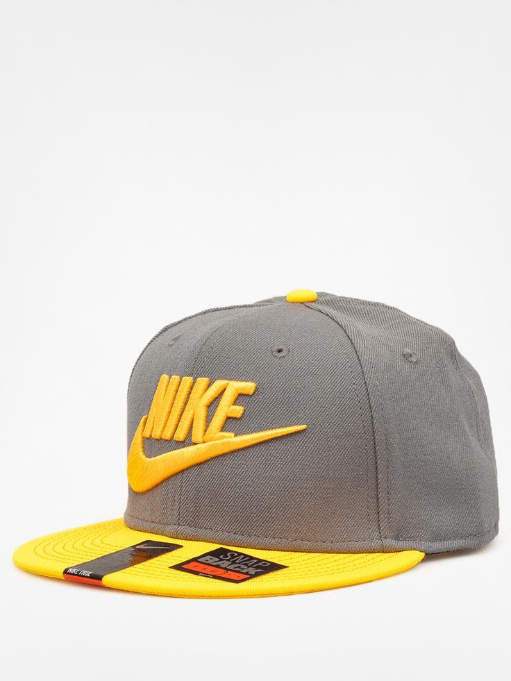 Czapka z daszkiem Nike Futura ZD (grey/yellow)