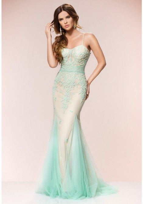 Forever Unique Shia Fishtail Maxi Dress