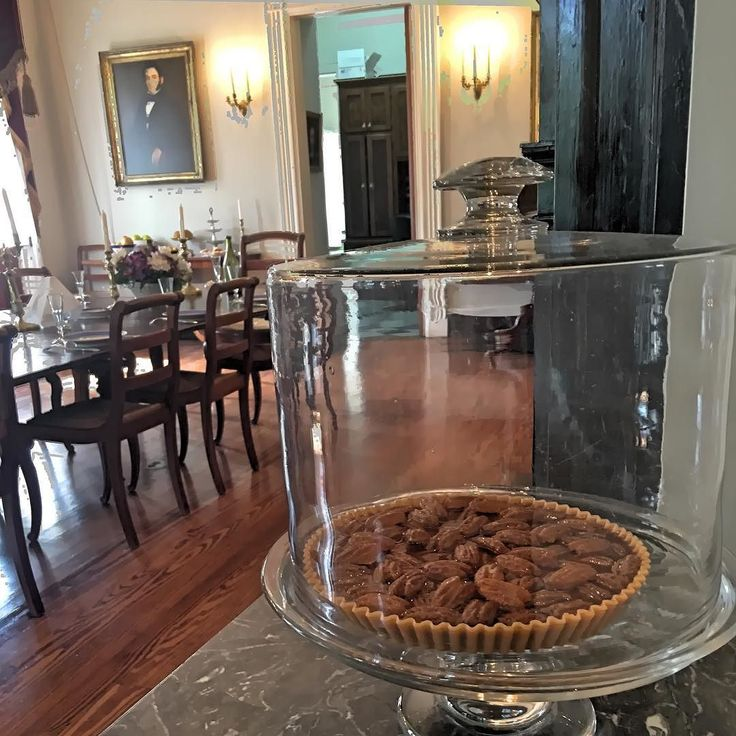 Pecan pie and Louisiana history two things we really really love! #OakAlley