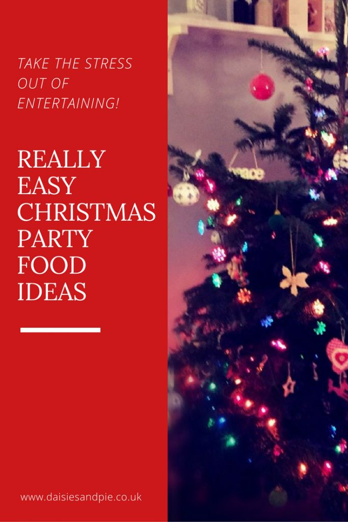 Really easy Christmas party food ideas - Christmas buffet menu ideas a fab pick and mix list of what to include in a festive buffet. Easy family food from daisies and pie.