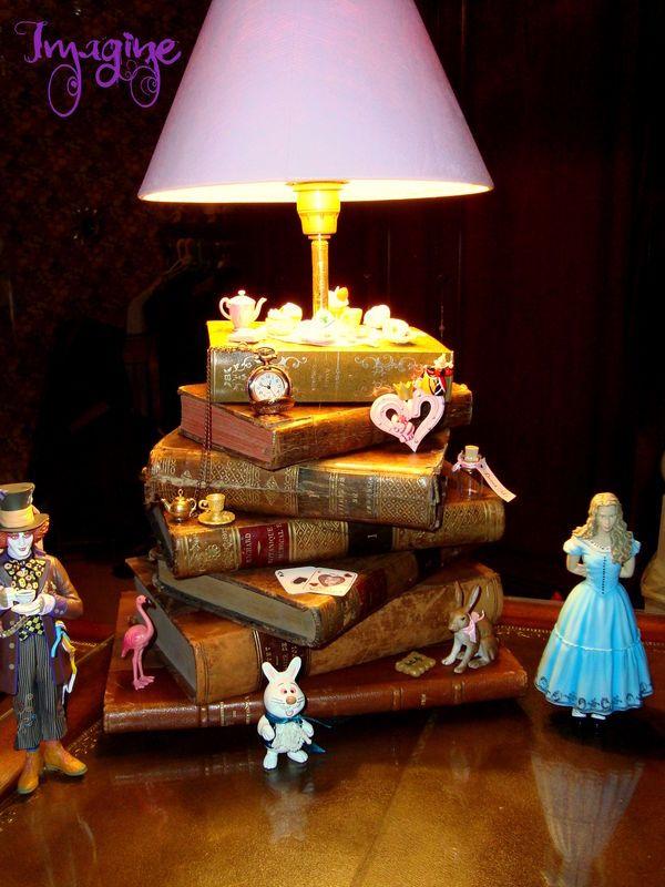 Lampe Alice aux Pays des Merveilles