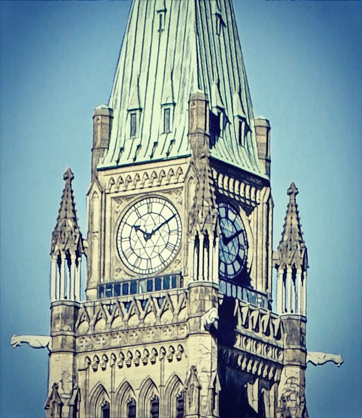 Peace Tower, Parliament, Ottawa, Canada